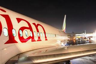 エチオピア航空787-8搭乗