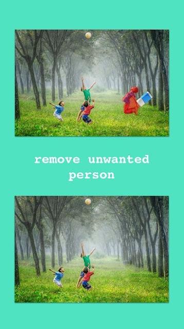 تطبيق أندرويد حذف وإزالة أي شئ أو شخص من الصورة دون ترك أي أثر  remove object from photo