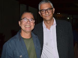 Willians Braga, empresário e parceiro do Governo Municipal em diversas ações e eventos, e Márcio de Paula, sec. Cultura