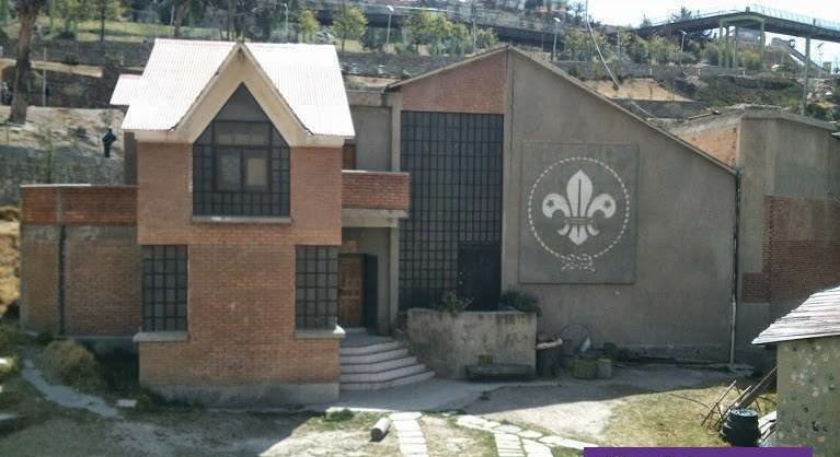 Sede de los Boy Scouts en la avenida del Ejército. La institución se sumó a las denuncias / RRSS