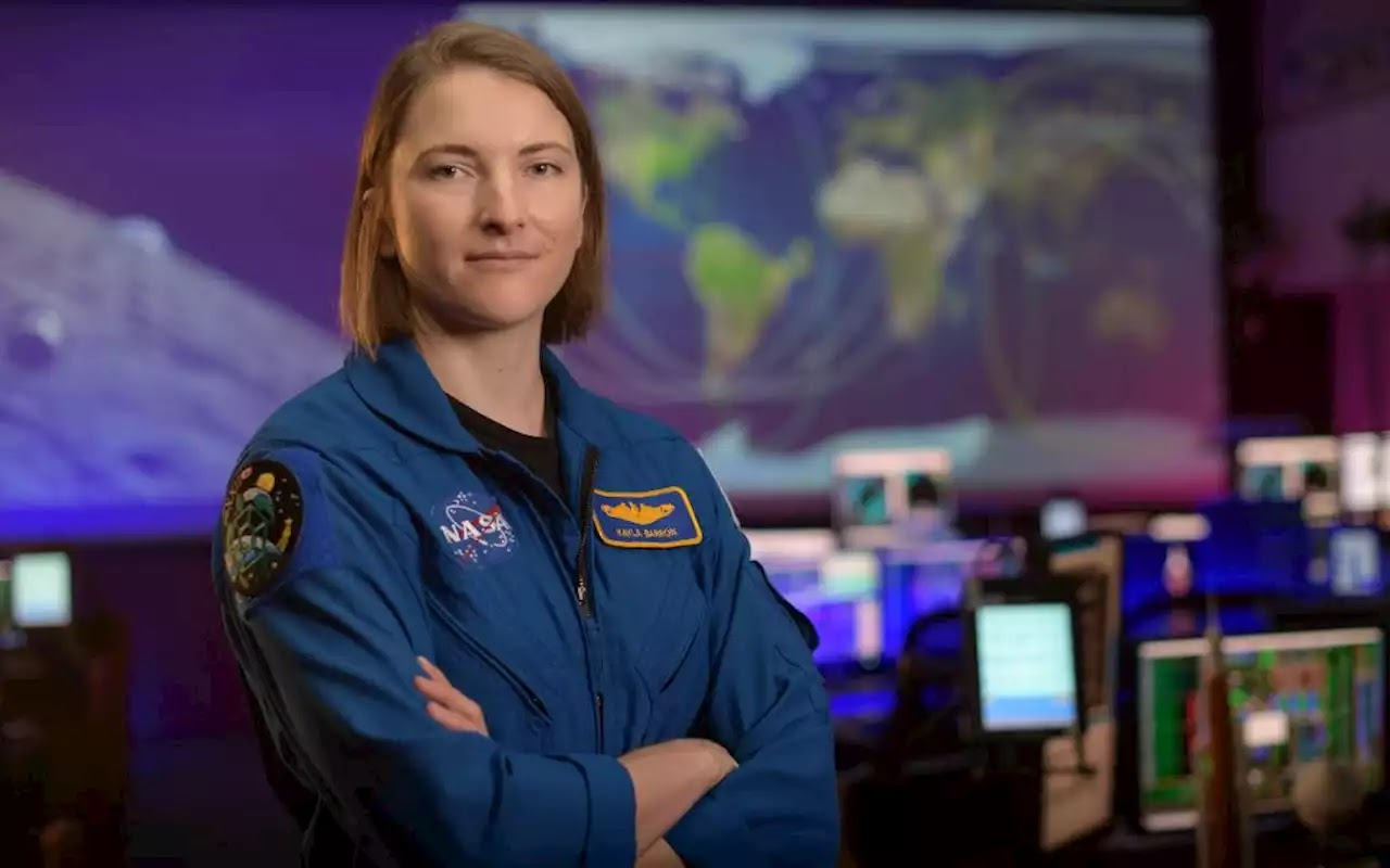 Kayla Barron Joins NASA's SpaceX Crew-3 Mission to Space Station