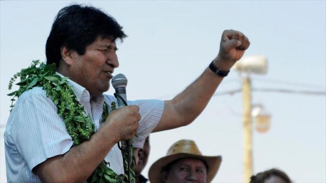 Morales denuncia restricción de pruebas de la COVID-19 en Bolivia