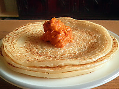 Rice Flour Crepes Recipe @ http://treatntrick.blogspot.com
