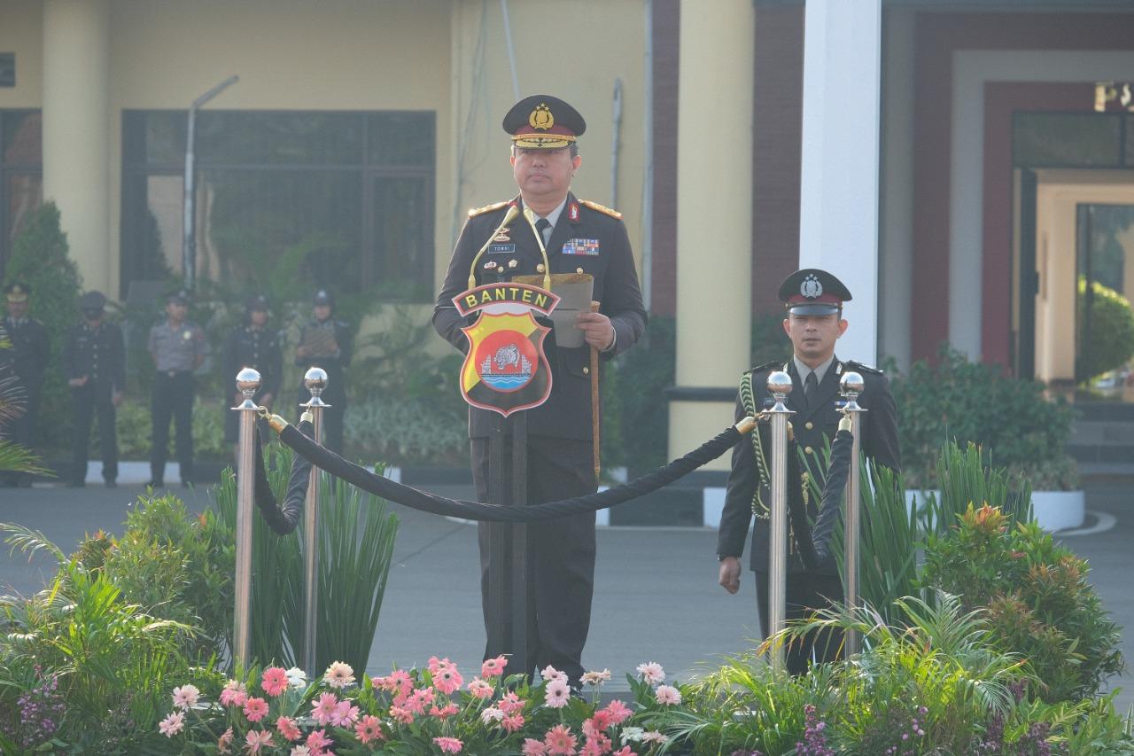 Polda Banten Gelar Upacara Peringatan Hari Kesaktian Pancasila