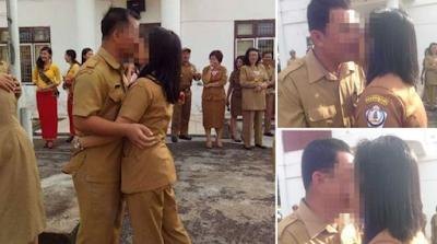 Parah...! Foto PNS Berciuman Massal Beredar, Ini Tanggapan Netizen