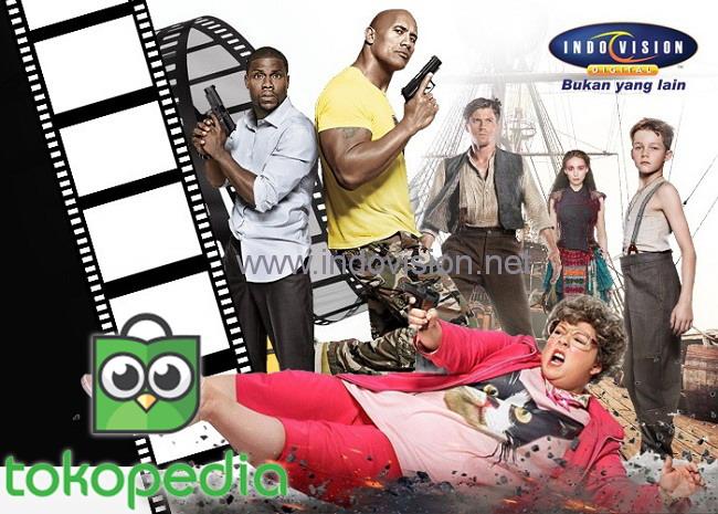 Promo terbaru Indovision dan Tokopedia dalam bentuk Cashback!