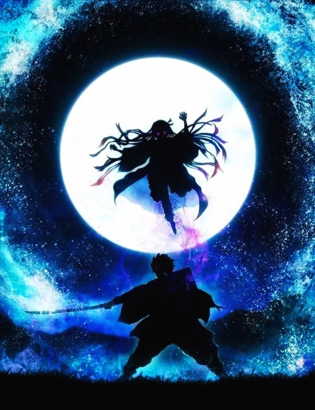 Super product under the moonlight - Kimetsu No Yaiba