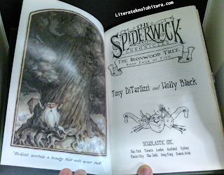 spiderwick the ironwood tree title page