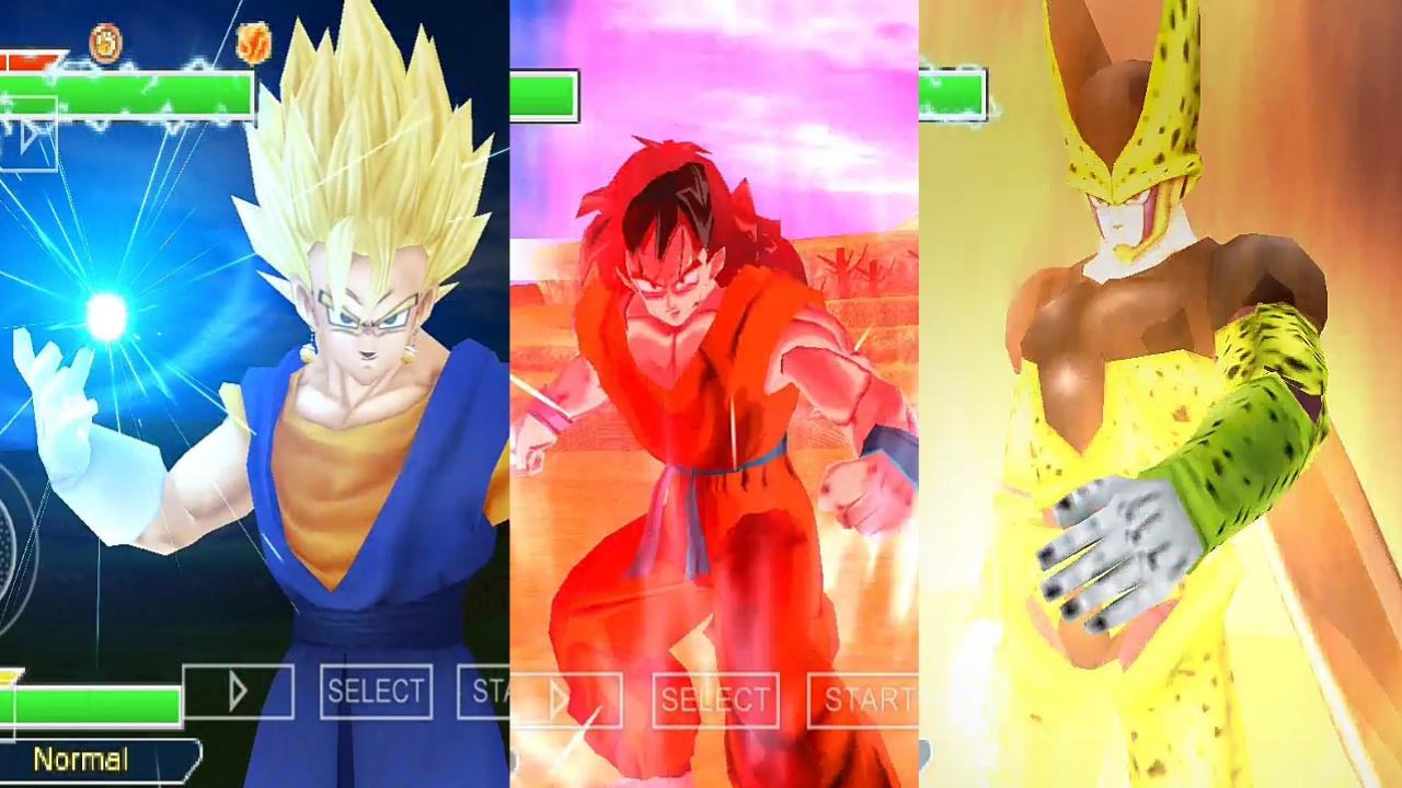 Vegito Vs Cell Dragon Ball Z