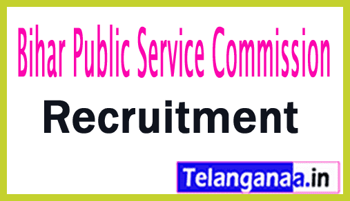 Bihar Public Service Commission BPSC Recruitment Notification