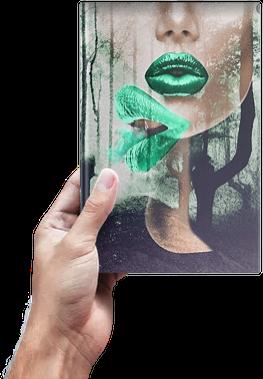 Libro El beso sujeto por una mano