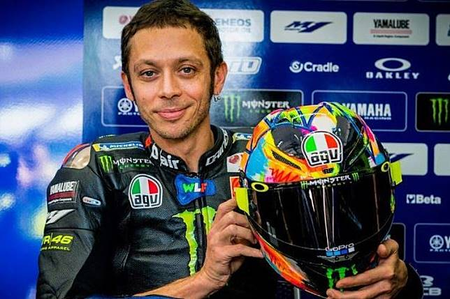 Mantan Pembalap Sebut Valentino Rossi Punya Nafsu yang Ekstrem