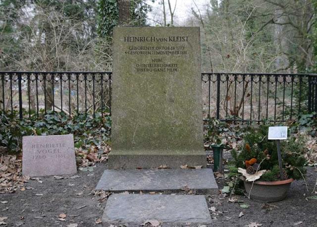 Heinrich von Kleist's Tomb em Berlim