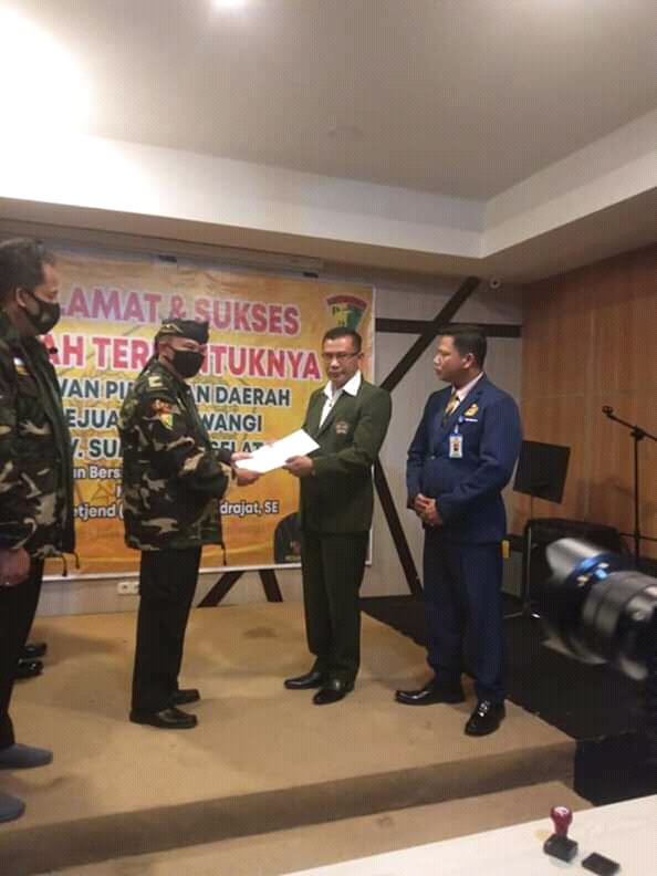 DPD Pejuang Siliwangi Provinsi Sumatra Selatan Adakan Senam Bersama Dalam Rangka Meningkatkan Imunitas Tubuh