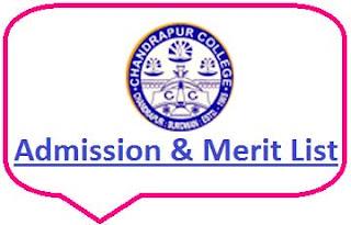 Chandrapur College Merit List