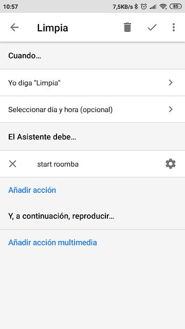 pantalla-rutina-limpia-app-google-home