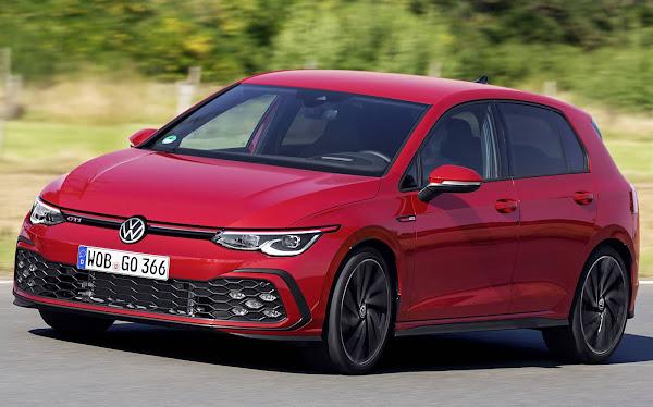VW Golf - carro mais vendido da Europa