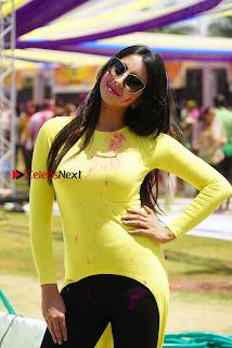 Actress Sanjana Galrani High Definition Pos at Holi Celebrations  0008.jpg
