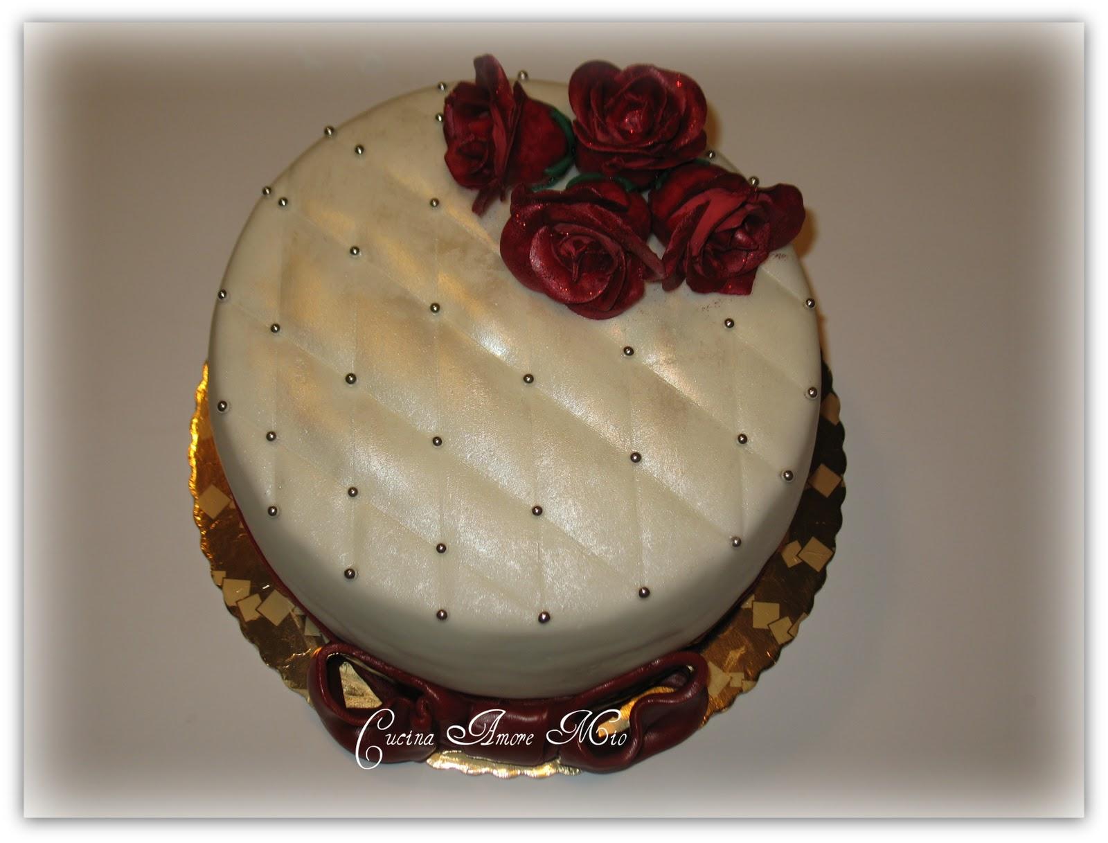 Torta Effetto Trapunta Tutorial.Lara Costantini Cake Designer Torta 60 Anni