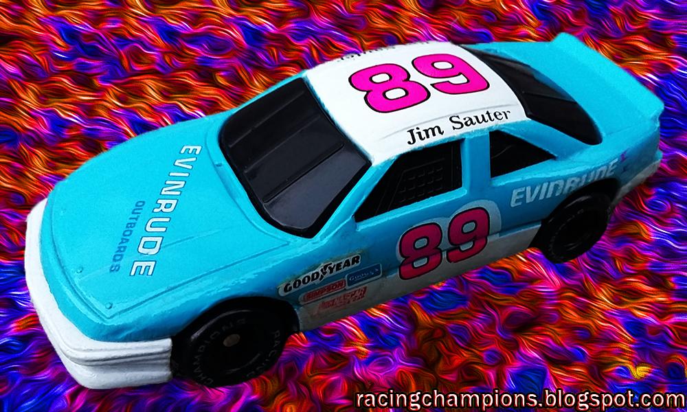 NASCAR Racing Champions Blog: Jim Sauter #89 Evinrude Outboard
