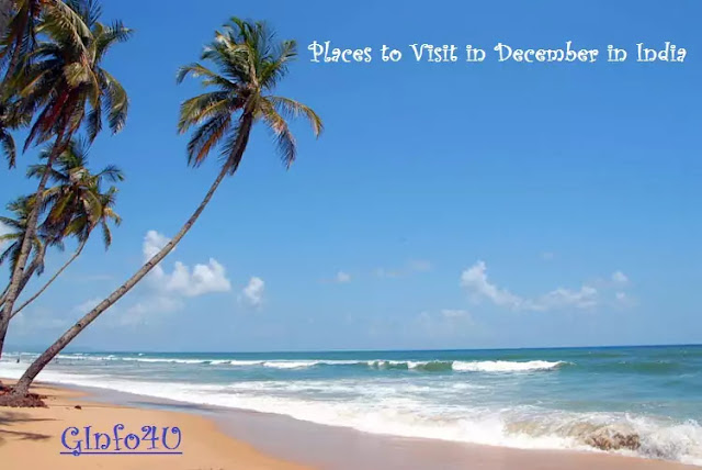 List of Tourist Places in India - places to visit in december in india - Ginfo4U