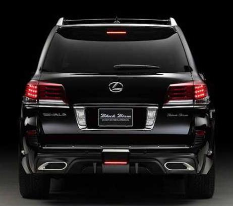Lexus Lx 570 Redesign 2016