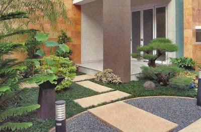Contoh Desain Taman Rumah Modern