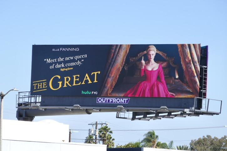 Great Hulu FYC billboard