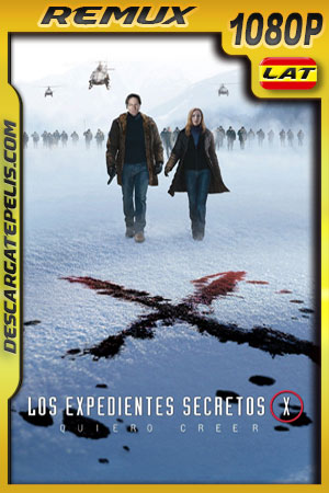 The X-Files I Want to Believe (2008) 1080p BDRemux Latino – Ingles