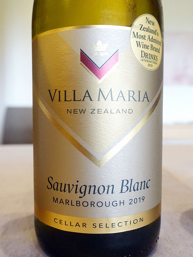 Villa Maria Cellar Selection Sauvignon Blanc 2019 (89 pts)