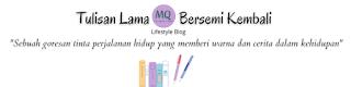 Header blog background putih