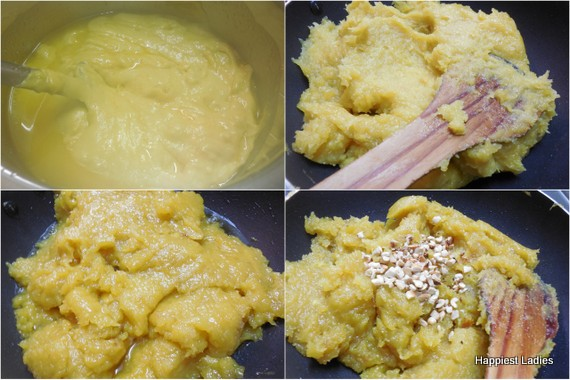 how to prepare jackfruit halwa