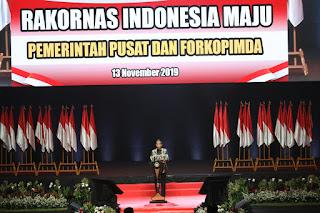 Presiden : Rakornas Pemerintah Pusat dan Forkopimda Adalah Terlengkap dan Terpenting