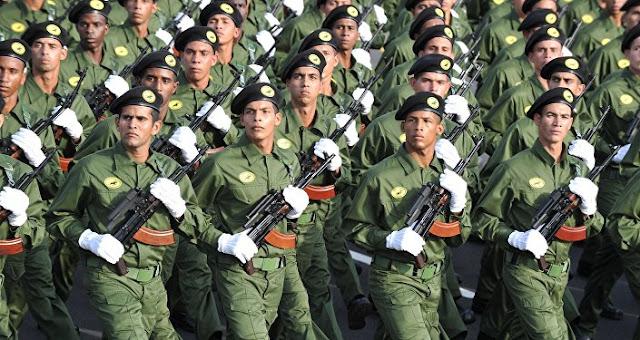 """Cuba anunciou cinco dias de exercícios militares para se preparar para possíveis """"ações inimigas"""" após vitória eleitoral de Donald Trump"""
