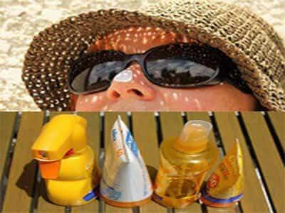 العناية ببشرة الحامل من أشعة الشمس