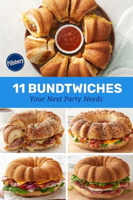 11 Bundtwiches Your Next Party Needs