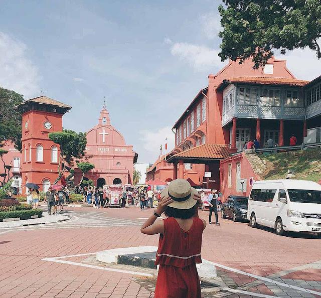 Malacca, nơi hơi thở Á – Âu hòa làm một