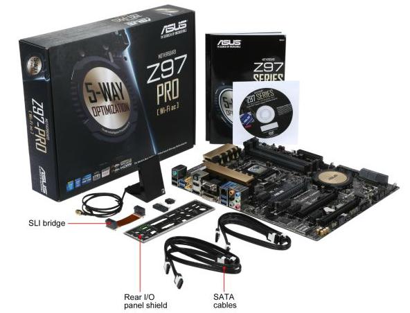 Motherboard ASUS Z97-Pro Hadirkan Fitur Gaming Dan Crystal Sound 2
