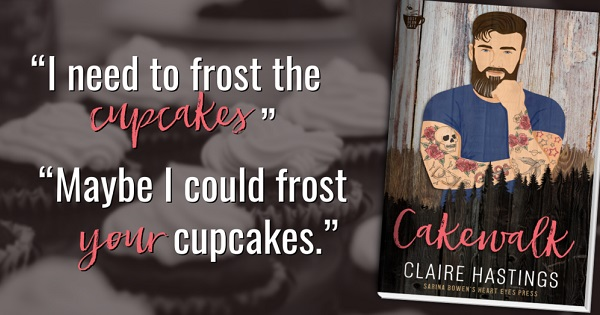 """""""I need to frost the cupcakes.""""     """"Maybe I could frost your cupcakes."""""""