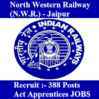 North Western Railway, N.W.R., freejobalert, Sarkari Naukri, North Western Railway Answer Key, Answer Key, north western railway logo