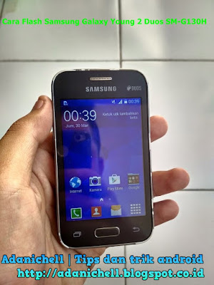Cara Flash Samsung Galaxy Young 2 Duos SM-G130H