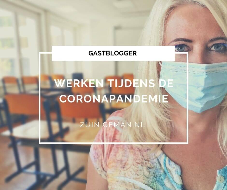 Werken tijdens de coronapandemie