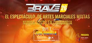 BRAVE 26 Artes Marciales Mixtas en Bogotá