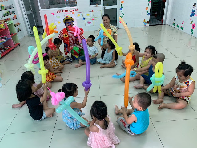 Thuê chú hề sinh nhật tại Long Biên, Hà Nội