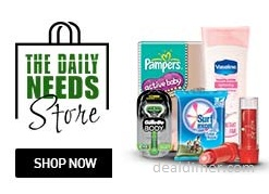 SnapDeal The Daily Needs Store (One stop shop for all your household supplies.), starts from Rs. 49 (Free Delivery)