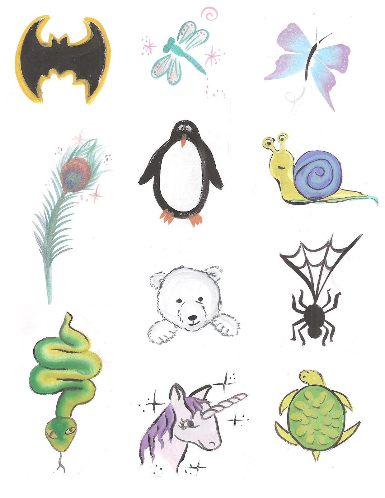 Face Paint Stencils For Children