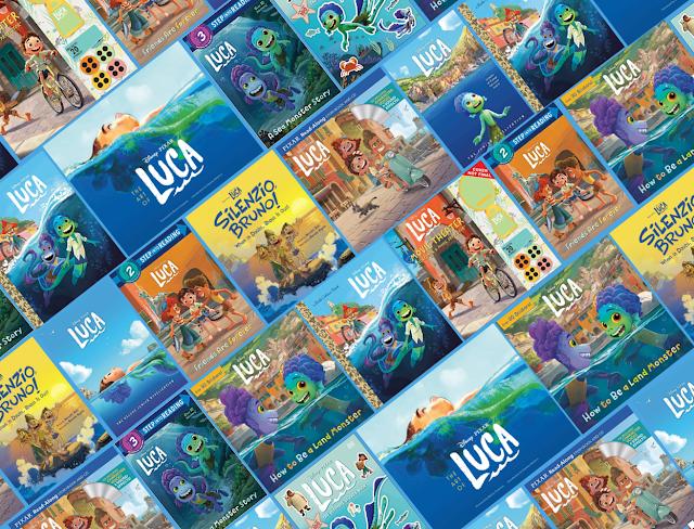 Disney Pixar Luca Books hitting stores and Amazon