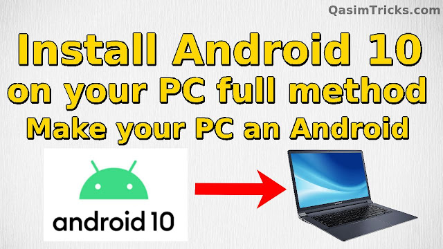 How install Android 10 on PC - Bliss OS 12 full Installation method