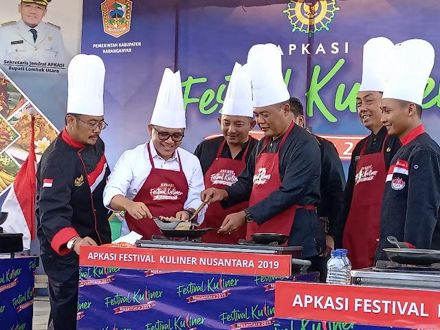 KodimKaranganyar - Festival Kuliner Nusantara