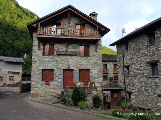 Casa Gallan, Sarvisé, Pirineo Aragonés
